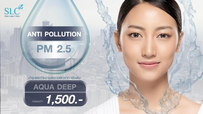 """ปกป้องผิวจาก PM 2.5 ด้วย """" Anti Pollutions Program """""""